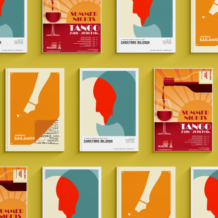 TANGO MELBOURNE EVENT POSTERS