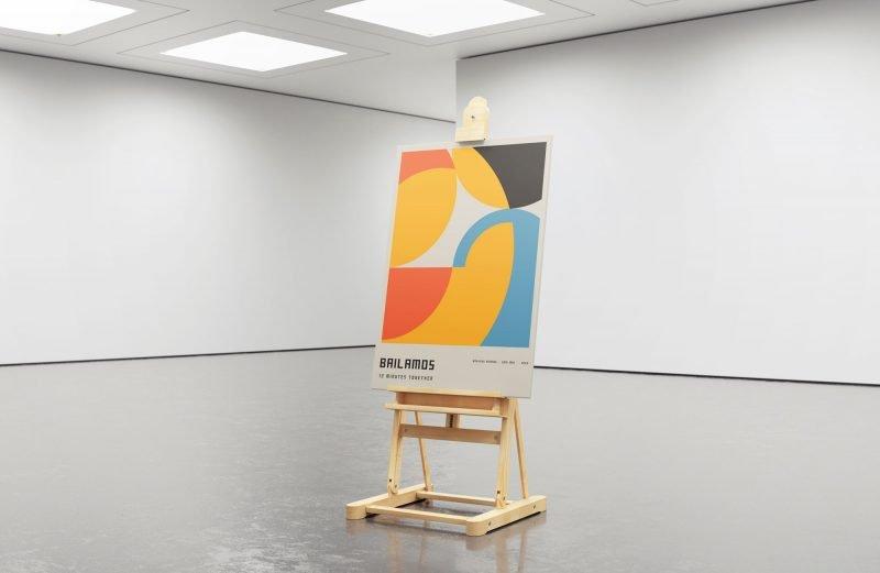 12 Minutes together - Bauhaus Homage - Bailamos Tango Art - Doni Mac