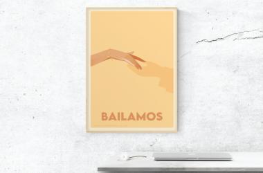 Bailamos Tango - inviation mockup