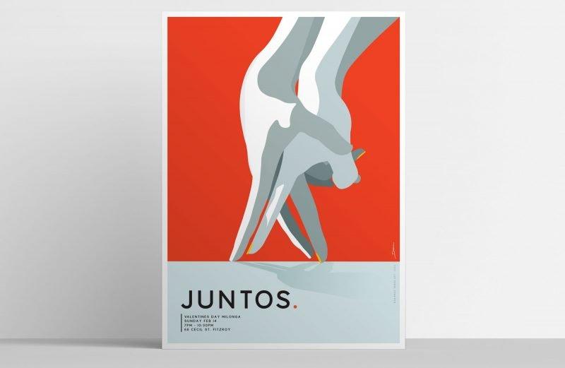 Juntos-Valentines-2021-Tango Melbourne event poster