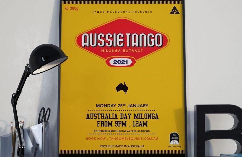 Tango Melbourne Australia day Milonga 2021 - Vegemite Milonga